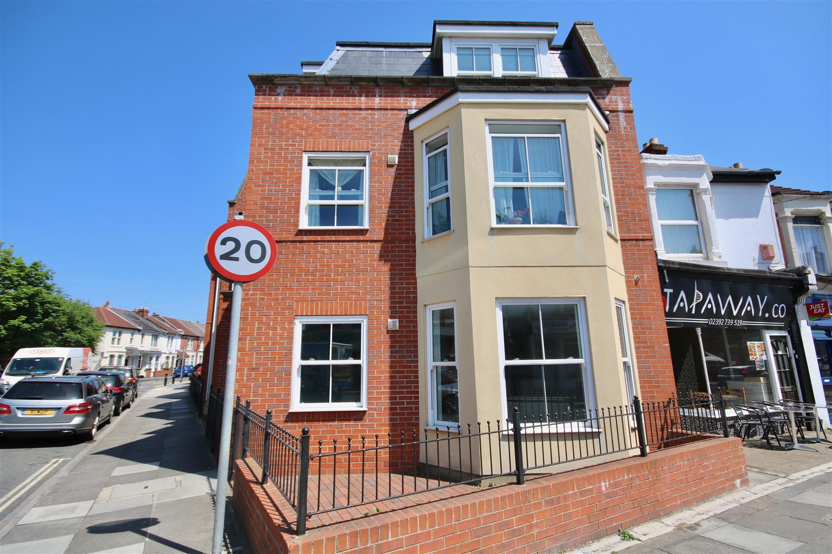1 Bedroom Flat for sale in Dunbar Road, Southsea